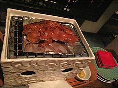 料理:豚足のやわらか煮炙り@ウォーターダイニング蔵音・博多駅東