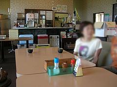 6店内:テーブル席@福岡・吉井・豚足・山歩(さんぽ)