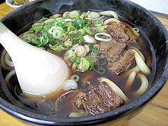 料理:肉うどん500円@小倉名物肉うどん・ひろちゃん・上牟田