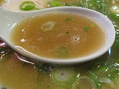 料理:ラーメンスープ@元祖赤のれん節ちゃんラーメン野間店