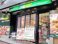 外観@SUBWAY(サブウェイ)天神昭和通り店・福岡
