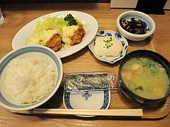 8ランチ:チキン南蛮定食590円@わっぱ定食堂・天神・今泉