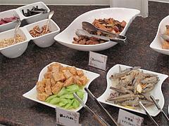 13ランチ:サラダコーナー・エスカベッシュ@ブルースター・タカクラホテル福岡