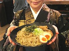 ランチ:濃厚ブラックつけ麺並量@麺家いろは・富山ブラック・キャナルシティ・ラーメンスタジアム
