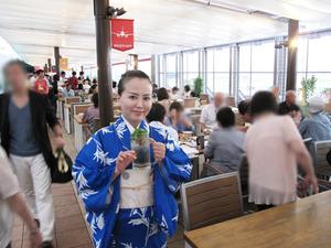 4店内@福岡空港ビアガーデン