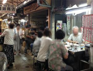 4テーブル席@べんり屋・栄町市場