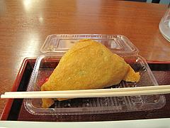 12ランチ:ジャンボ梅しそいなり150円@つるまる饂飩・福岡天神店