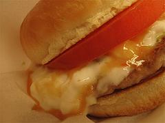 8ランチ:塩糀バーガーの山芋ソース@モスバーガー六本松店