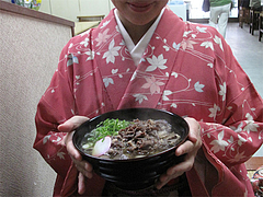 11メニュー:さくらうどん530円@博多さぬきうどん・渡辺通り店