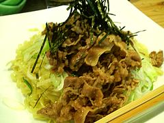 料理:肉そばアップ@肉そば・喰海・つけ麺・天神