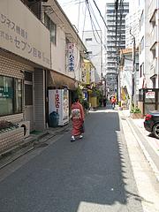 外観:通り@旬美食彩たなごころ・渡辺通