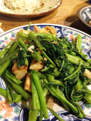 14ウンチェーチャンプルー@沖縄料理しむ