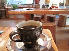 料理:フェアトレード・コーヒー300円@カフェ・ムッシュドムニィー・小郡