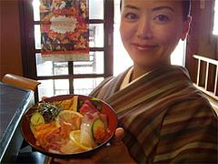 ランチ特盛海鮮丼とアタシ@はなれんこん・福岡市城南区別府