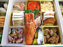 料理:空撮@2011セントラルホテル福岡お節(おせち)・二の重