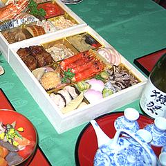 料理:獺祭(だっさい)@2011セントラルホテル福岡お節(おせち)・一の重
