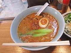 9ランチ:元祖博多担々麺単品680円@博多担々麺まるみや・渡辺通り店・春吉