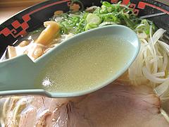 料理:天日塩ラーメンスープ@ラー麦や・ラーメン