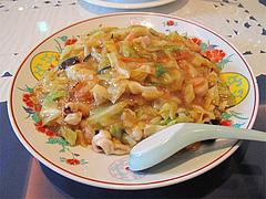 7ランチ:西新福寿飯店式皿うどん780円@中華・華風・福壽飯店・大名