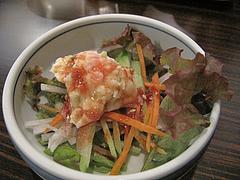 ランチ:小鉢のポテサラ@博多味処ぴょんきち・屋台ラーメン居酒屋