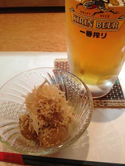 3なぜビール?@花のれん