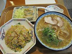 12ランチ:ラーメン定食700円@元祖赤のれん・節ちゃんラーメン・野間店