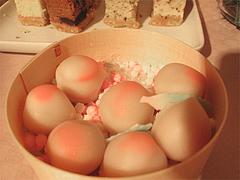 料理:桃の小菓子@ひなまつり・女子会