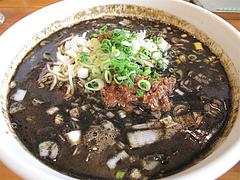 料理:黒坦々麺680円@晴商店(はれしょうてん)・福岡市南区那の川
