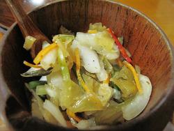 16野菜のピクルス@カレー本舗博多本店