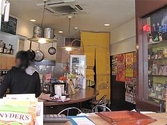 店内:カウンター席@ジャークチキン・BUJU・福岡市南区長丘
