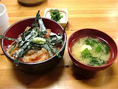 柳橋食堂の海鮮丼セット@福岡・春吉・柳橋連合市場