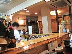 店内:カウンター@旬美食彩たなごころ・渡辺通