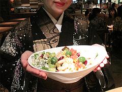 11夜カフェ:コブサラダ1,100円@Brooklyn Parlor HAKATA(ブルックリンパーラー博多)・博多リバレイン