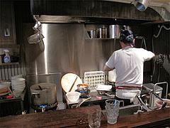 4店内:厨房ですよ@麺道はなもこし(花もこし)・薬院