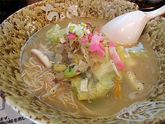 料理:ちゃんラーメン650円とちゃんぽん650円@博多ちゃんぽん・つけ麺・ちょき・六本松