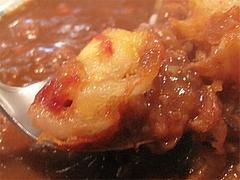 料理:玉ねぎフライカレー食べる@文化屋カレー店・博多区住吉