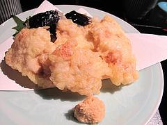 19和食:河豚の天ぷら@英二楼・河豚料理・海鮮居酒屋