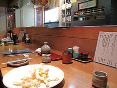 店内:カウンター@蕎麦・木曽路