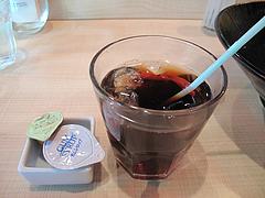 14ランチ:アイスコーヒー@ヌードルキッチン・ウツツヤ・天神ビブレ