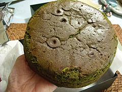 料理:全体径15センチくらい@贅沢抹茶満月(抹茶満月)駿河園
