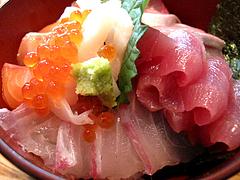 ランチ:魚男丼(海鮮丼)2@博多炉端・魚男(フィッシュマン)・今泉・天神