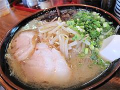 料理:もやしラーメン600円@博多長浜ラーメンいってつ・大橋