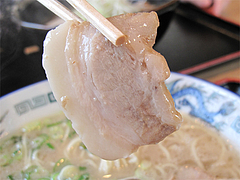 料理:とんこつラーメンチャーシュー@麺's蓮・那珂川
