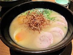料理:白湯鶏拉麺(こってり)650円@ラーメン・ランチ・たらふくまんま・春吉
