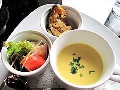 料理:ピッツァランチの前菜@PALM BEACH R style(パームビーチ アールスタイル)