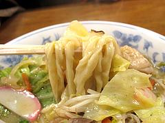 料理:ちゃんぽん麺食べる@魚魚・居酒屋