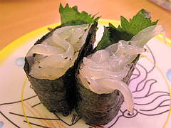 料理:白魚@かっぱ寿司・博多半道橋店