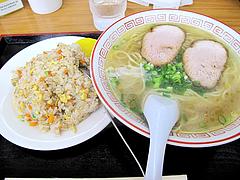 ランチ:しょうゆらーめん+ミニヤキメシ@中華料理・中国飯店・平和