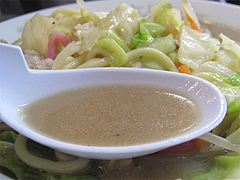 料理:チャンポンスープ@香蓉軒・那珂川