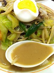 5ランチ:チャンポンスープ@名代ラーメン亭・天神ビブレ店